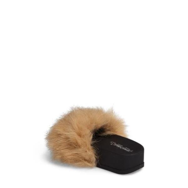 ジェフリーキャンベル レディース シューズ サンダル Jeffrey Campbell Lucky Me Faux Fur Flatform Slide (Women)|fancyowl|02