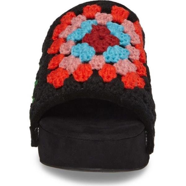 ジェフリーキャンベル レディース シューズ サンダル/シューズ Jeffrey Campbell Nonna Crocheted Platform Slide Sandal (Women)|fancyowl