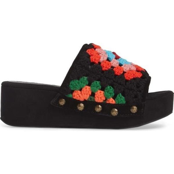 ジェフリーキャンベル レディース シューズ サンダル/シューズ Jeffrey Campbell Nonna Crocheted Platform Slide Sandal (Women)|fancyowl|05