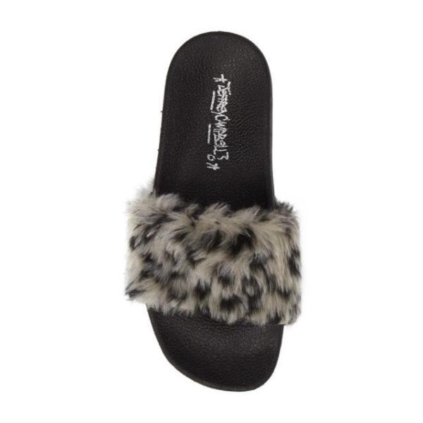 ジェフリーキャンベル レディース シューズ サンダル Jeffrey Campbell Lucky Me Faux Fur Flatform Slide (Women)|fancyowl|05