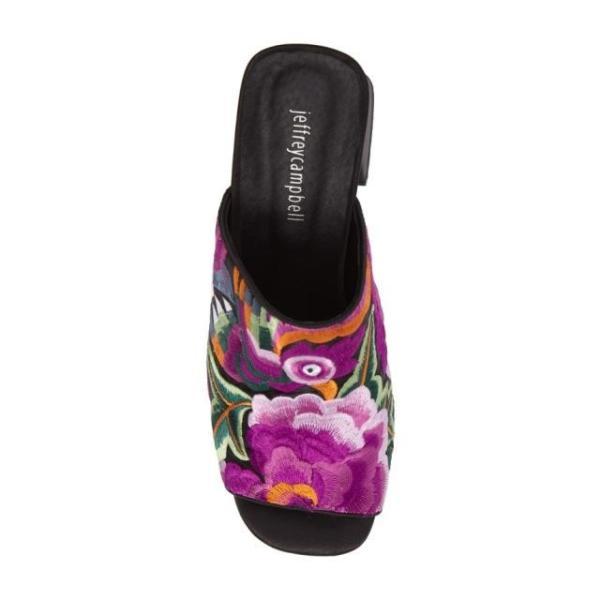 ジェフリーキャンベル レディース シューズ サンダル Jeffrey Campbell Perpetua Embroidered Open-Toe Mule (Women) fancyowl 05