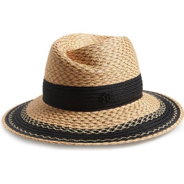メゾンミッシェル レディース 帽子 キャップ Virginie Straw Hat
