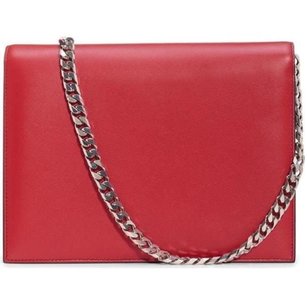 アレクサンダーマックイーン レディース バッグ  Alexander McQueen Pin Calfskin Leather Shoulder Bag