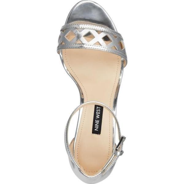 ナインウエスト レディース シューズ  Paisley Perforated Ankle Strap Sandal