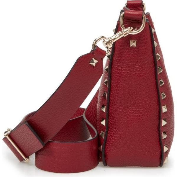 ヴァレンティノ レディース バッグ  VALENTINO GARAVANI Rockstud Mini Hobo Crossbody Bag