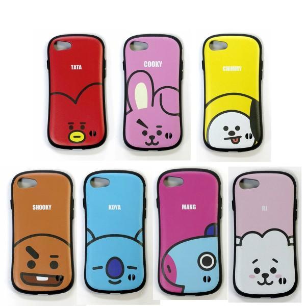 BTS 防弾少年団 BT21 (アップ)モバイル キャラクター IPHONE7/7S/8 CASE アイフォンケース【選択別】7種類|fani2015