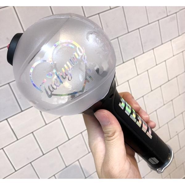 BTS 防弾少年団 (三日月ver.) ペンライトステッカー【メール便可】|fani2015|05