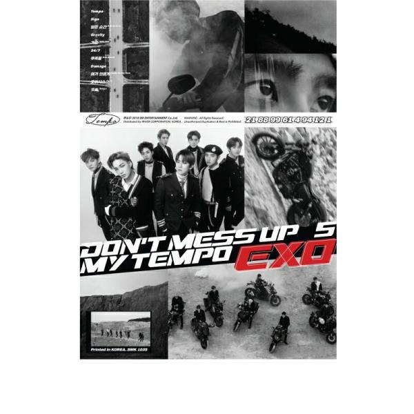 【宅配便指定商品】EXO 正規5集[ DON'T MESS UP MY TEMPO ]   ( Allegro+ Moderato+ Andante ver.) 3ver.SET   【ポスター付き】|fani2015|02