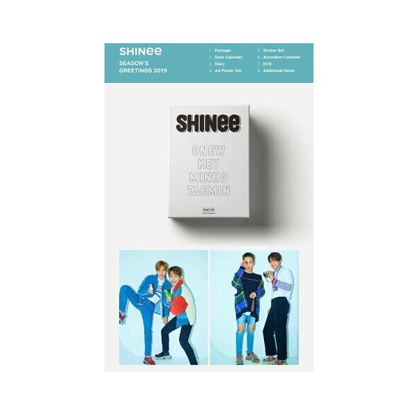 SM ARTIST SEASON'S GREETINGS 2019 TVXQ 東方神起 SUPERJUNIOR SHINee EXO SNSD RedVelvet NCT アーティスト選択 2019 seasons greeting シーグリ smtown|fani2015|05