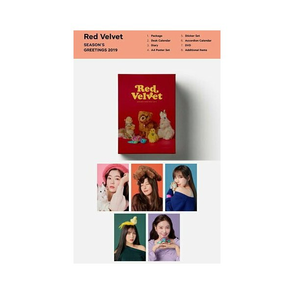 SM ARTIST SEASON'S GREETINGS 2019 TVXQ 東方神起 SUPERJUNIOR SHINee EXO SNSD RedVelvet NCT アーティスト選択 2019 seasons greeting シーグリ smtown|fani2015|07