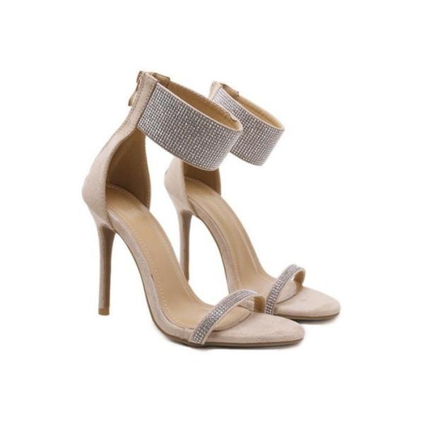 夏サンダル レディース 結婚式 キャバ 靴 美脚サンダル 11cmヒール 歩きやすい オープントゥ ピンヒール ハイヒール 2次会 履きやすい 10代 20代 30代 40代
