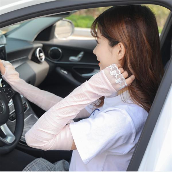 短納期涼感アームカバーuvカット涼しい冷感ロング指穴指なし腕カバ紫外線カット冷感夏日焼け防止ランニング運転自動車アウトドア