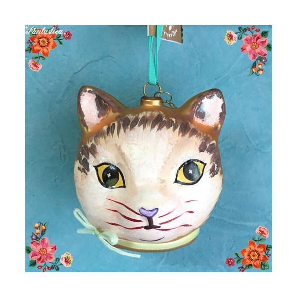 RoomClip商品情報 - ナタリー・レテ オーナメント ゴールド・キャット・ヘッド 金色トラ猫のフェイス・オーナメント