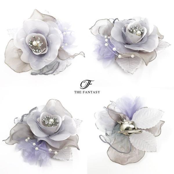 コサージュ  入学式 フォーマル コサージュ 入園式 花 オーガンジー コサージュ 桜の花 結婚式 fh8009gy