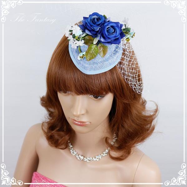 ヘッドドレス 髪飾り 花かんむり 花嫁 ウエディング ヘッドドレス fhds002cn