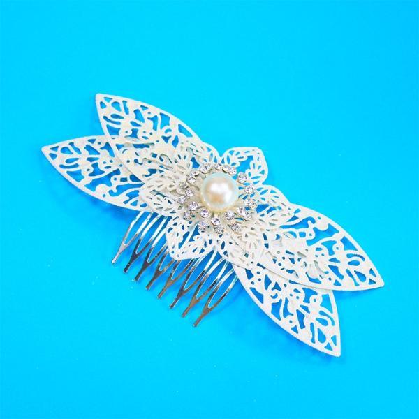 ヘッドドレス 髪飾り 花かんむり 花嫁 ウエディング ヘッドドレス fhds045b