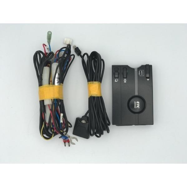 送料無料 ETC車載器 アンテナ分離型 音声タイプ DENSO デンソー DIU-9100(BK) セットアップ込み【中古】74636