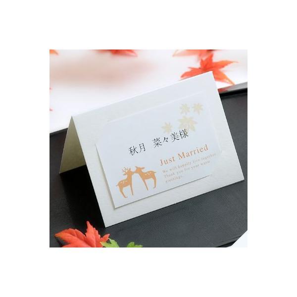 結婚式席札 MIYA-momiji 席札手作りキット(10部セット)
