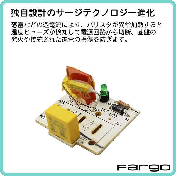 SUMMER SALE 7/19 13:59マデ おしゃれ 延長コード インテリア 電源タップ AC6個口 3.4A USB 2ポート プラグ 1.8m 2.8m PT601BEWD|fargo-creative|12
