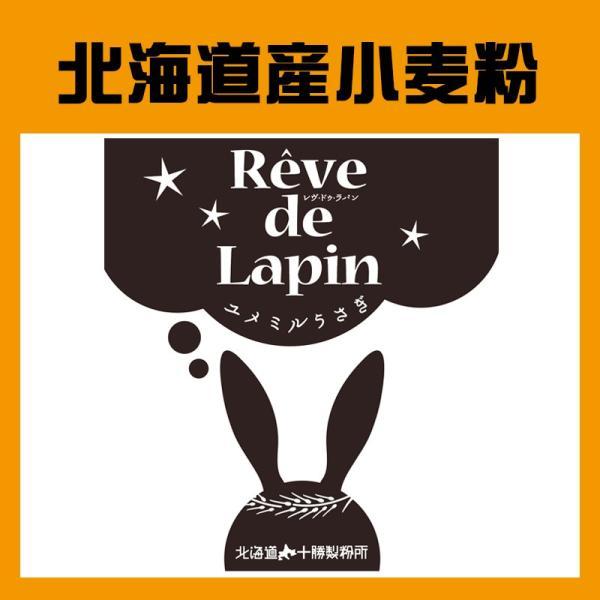 ヤマチュウ(山本忠信商店)ゆめちからブレンド「Reve de Lapin レヴ・ドゥ・ラパン(ユメミルうさぎ)」北海道産パン用小麦粉 1kg