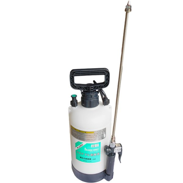 麻場 水田用フロアブル除草剤専用スプレー 2.5L F-2.5 水田用フロアブル除草剤を畔から散布に最適!