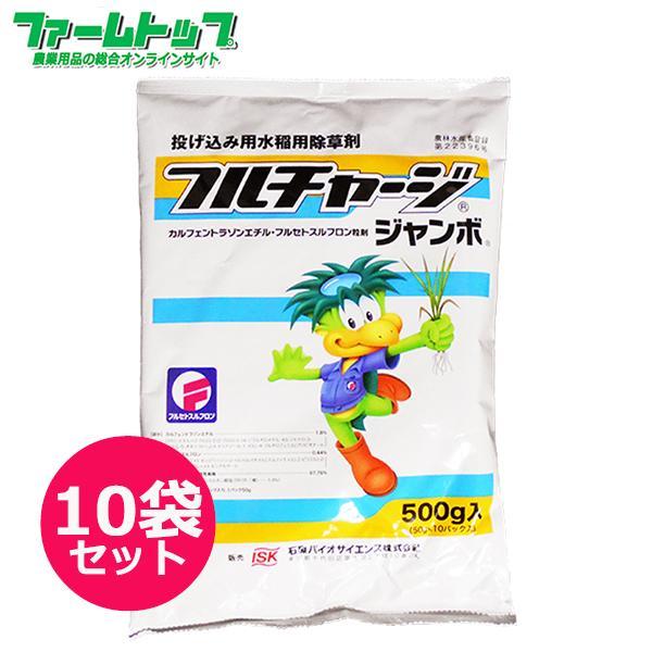 水稲用除草剤 フルチャージジャンボ500g×10袋セット