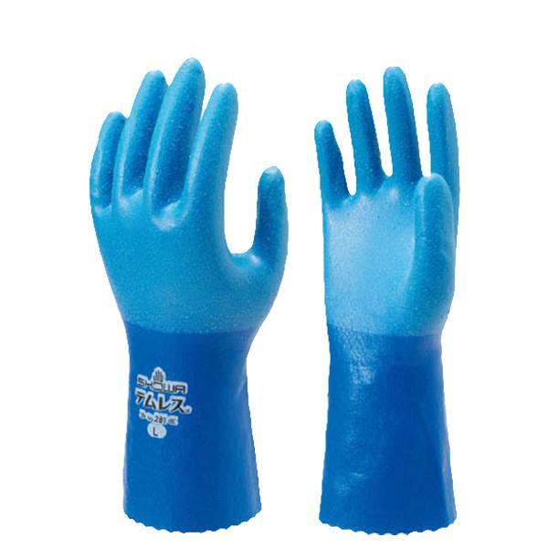 作業用手袋  ショーワグローブ テムレス S・M・L 透湿防水