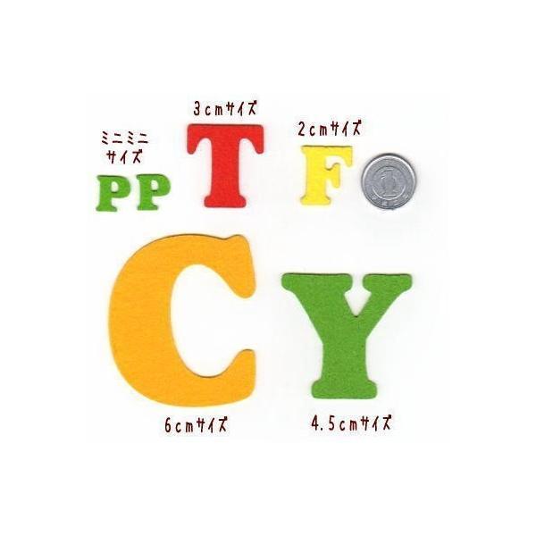 【書体1】【#coo】【4.5cm】アルファベットのカットワッペン farnnie-ya 04