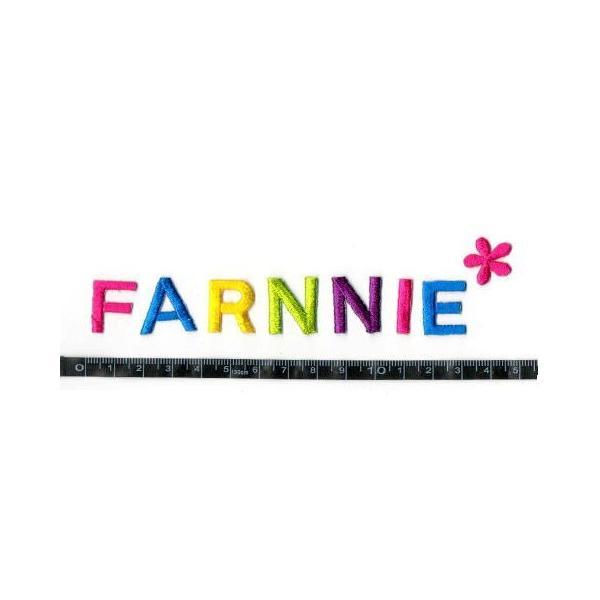 【2cm】アルファベット数字のカラー刺繍ワッペン【ゴシック体】|farnnie-ya|03