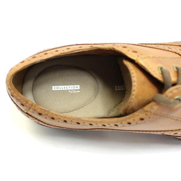 クラークス Clarks 靴 革靴 シューズ ビジネスシューズ カジュアル 本革 レザー ブラウン メンズ ブランド 26128465|fashion-labo|04