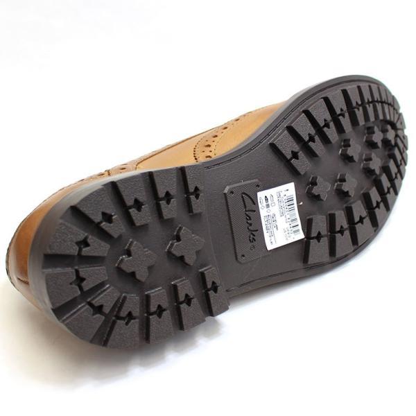 クラークス Clarks 靴 革靴 シューズ ビジネスシューズ カジュアル 本革 レザー ブラウン メンズ ブランド 26128465|fashion-labo|05