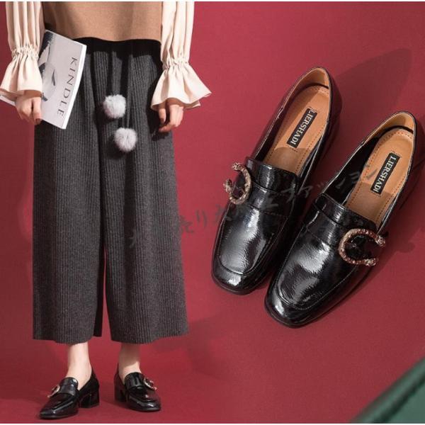 レディースローファータッセルおしゃれ通勤パンプス痛くないローヒールぺたんこビジネスシューズカジュアル革靴婦人靴