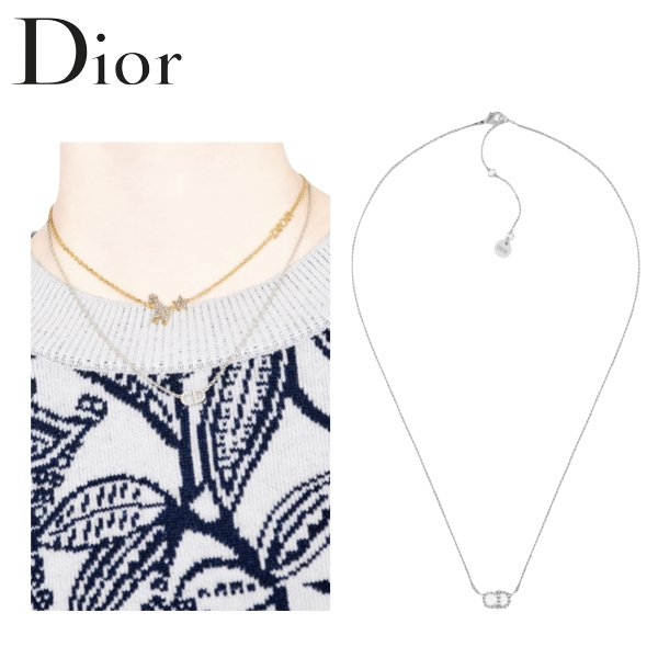 Christian Dior CLAIR D LUNE Necklace Ladys Accessory 2021SS クリスチャン ディオール クレール ディー リュヌ ネックレス レディース 2021年春夏