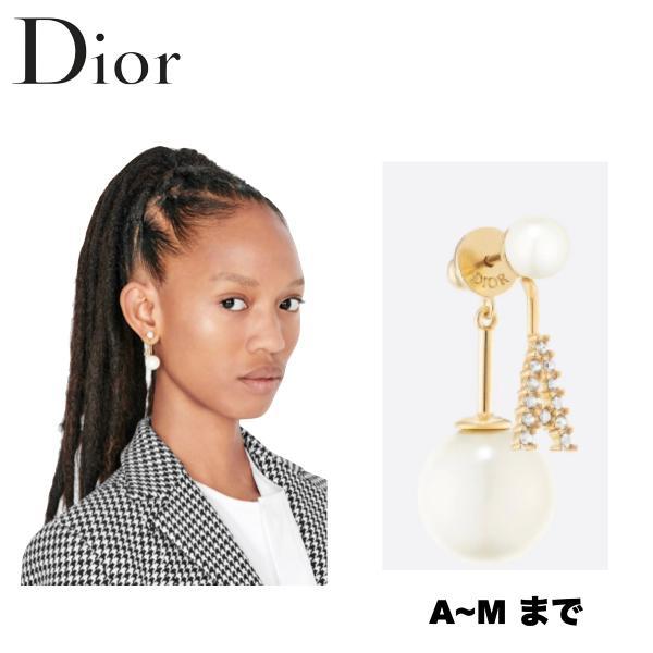 【A-M】Christian Dior MY ABCDIOR TRIBAL Earrings Ladys Accessory 2021SS クリスチャン ディオール MY ABCDIOR トライバル ピアス レディース 2021年春夏