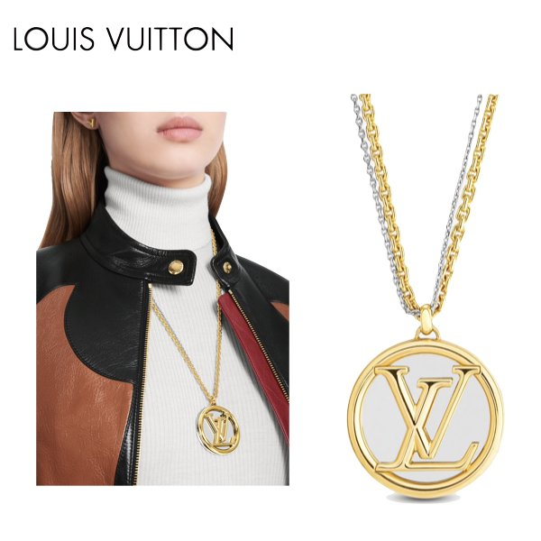 LOUIS VUITTON LOUISE LONG NECKLACE NECKLACE 2021SS ルイヴィトン コリエ・ルイーズ ネックレス 2021年春夏