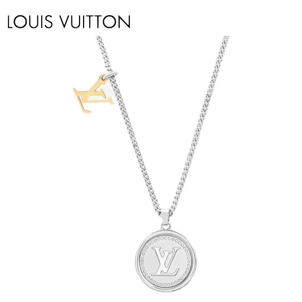 LOUIS VUITTON LV CATCH PENDANT NECKLACE 2021SS ルイヴィトン ペンダント・LVキャッチ ネックレス 2021年春夏