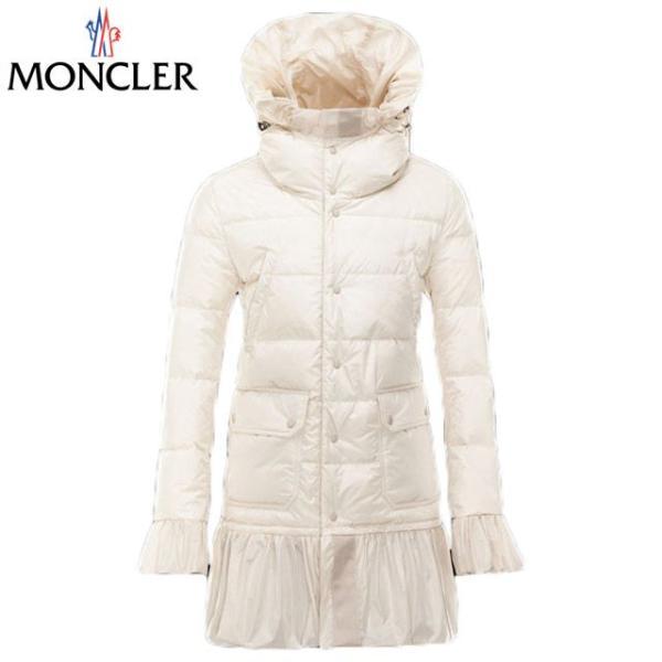 MONCLER モンクレール フード & フリル付き ダウンコート ダウンジャケット