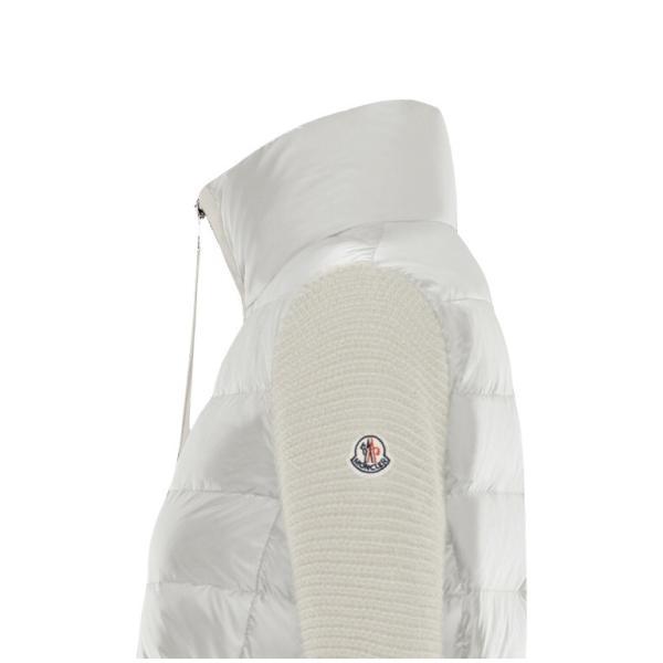 【海外限定カラー】MONCLER モンクレール ZIPPER TRICOT CARDIGAN ジッパー トリコット カーディガン Ladys レディース White ホワイト 2019-2020年秋冬新作|fashionplate-fsp|02
