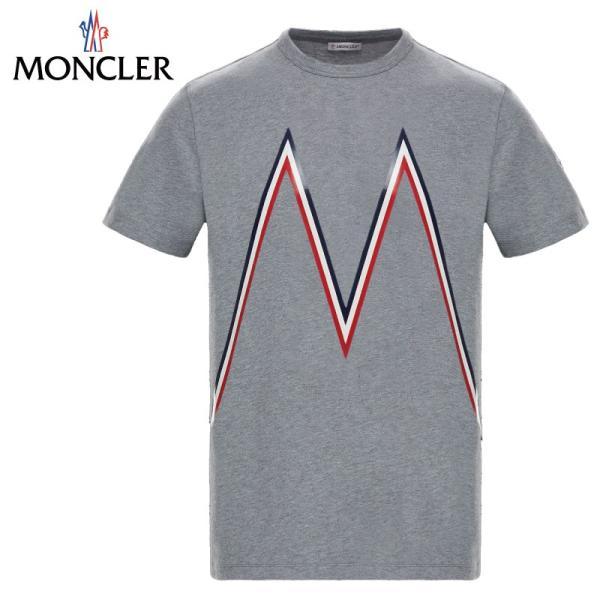 MONCLER モンクレール T-SHIRT Tシャツ Gris グレー メンズ 2019年春夏|fashionplate-fsp