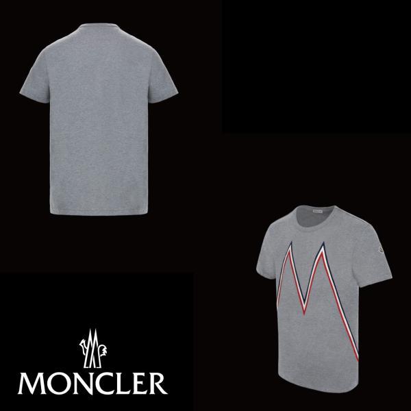 MONCLER モンクレール T-SHIRT Tシャツ Gris グレー メンズ 2019年春夏|fashionplate-fsp|02