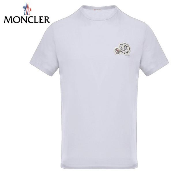 MONCLER モンクレール T-SHIRT Tシャツ Blanc ホワイト メンズ 2019-2020年秋冬|fashionplate-fsp