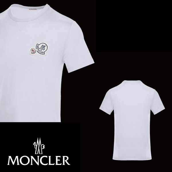 MONCLER モンクレール T-SHIRT Tシャツ Blanc ホワイト メンズ 2019-2020年秋冬|fashionplate-fsp|02