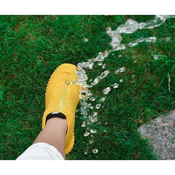 レインシューズ シリコン シューズカバー 雨用 梅雨 靴用防水カバー 雨靴 防滑 防水 レイン 靴カバー 靴 くつ カバー 通学 通勤 代引不可 fashionrizumu 08