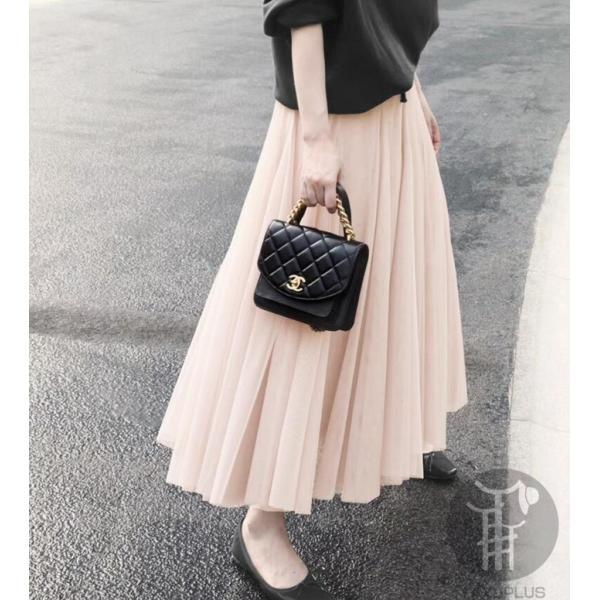 スカート チュールスカート スカート マキシ ロングスカート フレアスカート ウエストゴム マキシスカート ミモレ丈 スカート フリル 一部分当日発送 代引不可|fashionrizumu|09