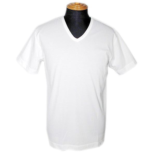 アダバット adabat メンズ 接触冷感無地Vネック半袖Tシャツ(BIG) LL 肌着 インナー|fashionspace-yokoya