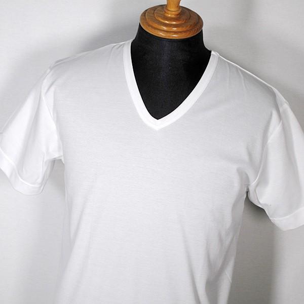 アダバット adabat メンズ 接触冷感無地Vネック半袖Tシャツ(BIG) LL 肌着 インナー|fashionspace-yokoya|02