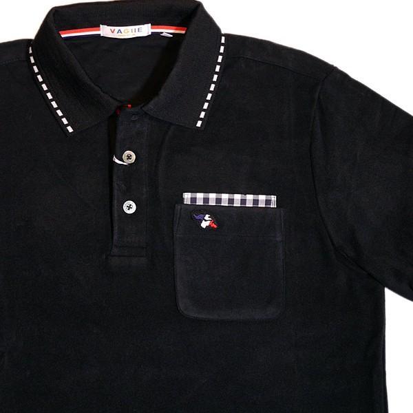バジエ VAGIIE 暖か素材 長袖フリースポロシャツ 1120-2001 日本製 (アウトレット30%OFF) 通常販売価格:18700円 fashionspace-yokoya 02