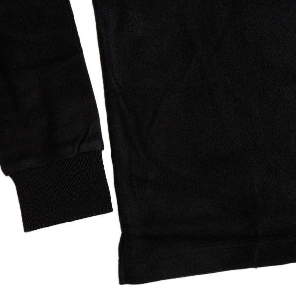 バジエ VAGIIE 暖か素材 長袖フリースポロシャツ 1120-2001 日本製 (アウトレット30%OFF) 通常販売価格:18700円 fashionspace-yokoya 03