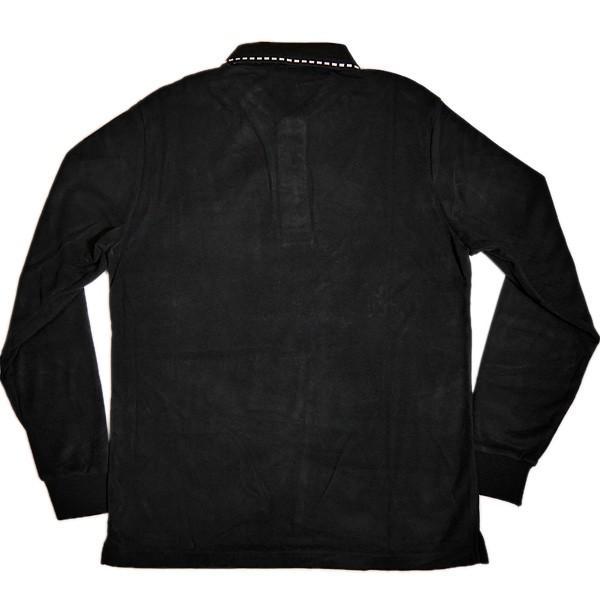 バジエ VAGIIE 暖か素材 長袖フリースポロシャツ 1120-2001 日本製 (アウトレット30%OFF) 通常販売価格:18700円 fashionspace-yokoya 04