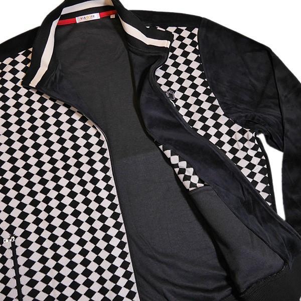 バジエ VAGIIE ダイヤ柄 ジップアップニットトレーナー 1120-2485 (アウトレット30%OFF) 通常販売価格:31900円 fashionspace-yokoya 05